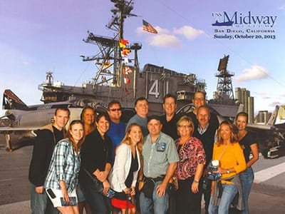 TAG Meeting in San Diego! Discovery group's trip to the Midway ship!